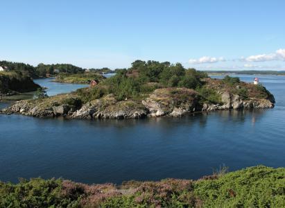 挪威, 斯堪的那维亚, 澳 agder, 天空, 水, 群岛, 船屋