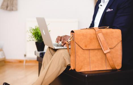 袋, 椅子, 计算机, 室内, 笔记本电脑, macbook, 男子
