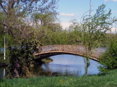 桥梁, 水, 景观, 旅行, 户外, 视图, 天际线