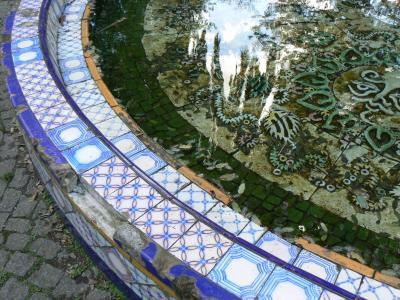 喷泉, 老, 博物馆, 建筑, 古代, 水, 历史