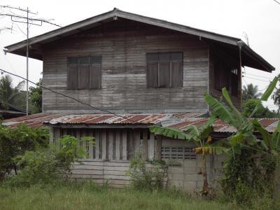 度假, 小屋, 小木屋, 手臂, 老, 泰国, 生活