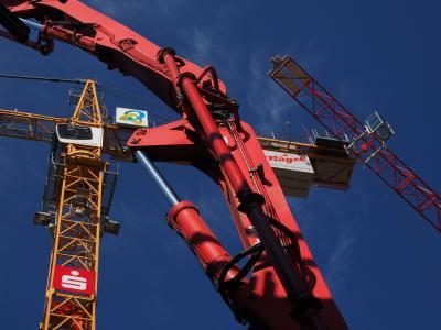 液压, 网站, 建筑起重机, 起重机, 建设工作, 技术, 建筑业