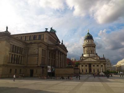 柏林, 广场, 德国, 资本, 歌剧, 建筑, 具有里程碑意义