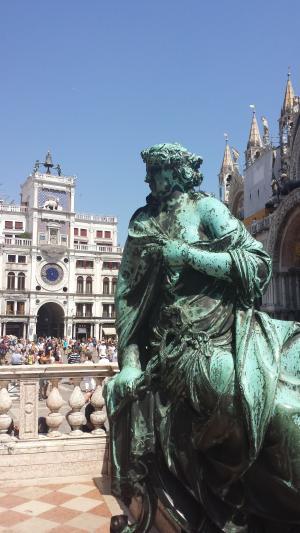 威尼斯, 圣马克广场, 意大利, 纪念碑, 历史, 旧城, 城市中心