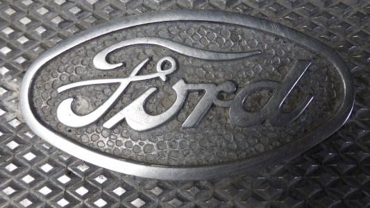 福特, 徽标, 牙菌斑, 而作, 汽车, 自动, 车辆