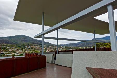 大厅, 蒙娜丽莎, 塔斯马尼亚岛, 前景, 现代, 浮顶