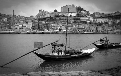 波尔图, 葡萄牙, 端口, 葡萄酒港, 小船, 旧城, 旅游
