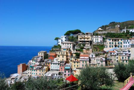 五渔村, 焦雷, 利古里亚, 意大利, 海, 国家, 景观