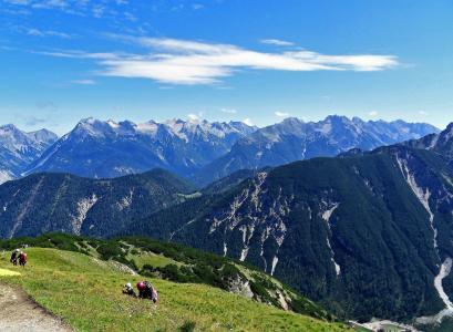 山, 阿尔卑斯山, 景观, 全景, 首脑会议, 自然, 奥地利