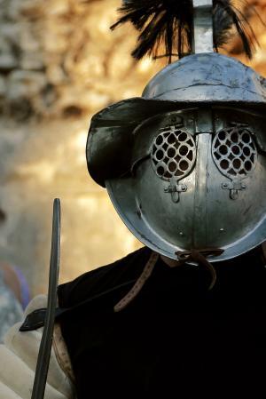角斗士 》, 战士, 头盔, 士兵, 罗马, 古代, 电源