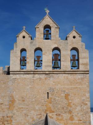 教会, 教堂屋顶, 钟楼, 建设, 建筑, 巴黎圣母院-murillo-de-la-vega, 设防的教会