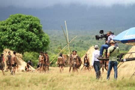 主任, 电影场景, 摄影师, 摄影师, 制作电影, 部落, 电影制作