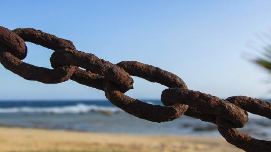 链, 生锈, 金属, 铁, 老, 链接, 钢