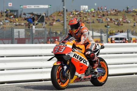 maquez, 摩托车, 本田, 锦标赛, 摩托车、 自行车, 到达, pitlane