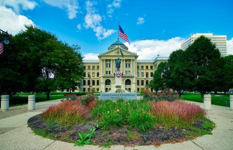 卢克斯县, 法院, 托莱多, 俄亥俄州, 建设, 结构, 前面