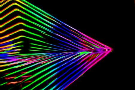 摘要, 霓虹灯, 背景, 光, 设计, 光明, 颜色