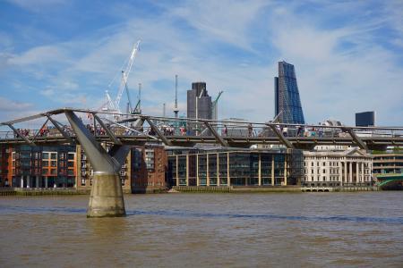 千禧桥, 伦敦, 人权法 》, 河, 城市, 城市