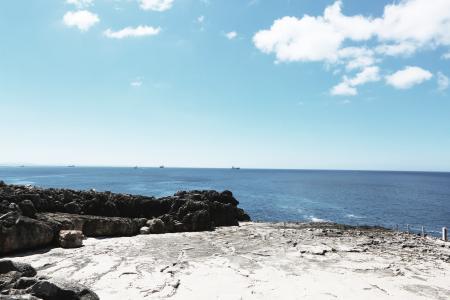 海滩, 海岸, 海洋, 户外, 岩石, 海, 海景