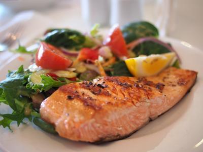 三文鱼, 一道菜, 食品, 顿饭, 鱼, 海鲜, 板