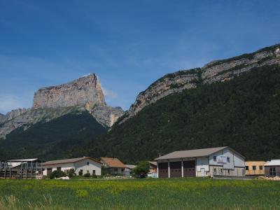 chaffaud, 钻头, 山, 地块, 韦科尔, 山脉, 多菲-阿尔卑斯