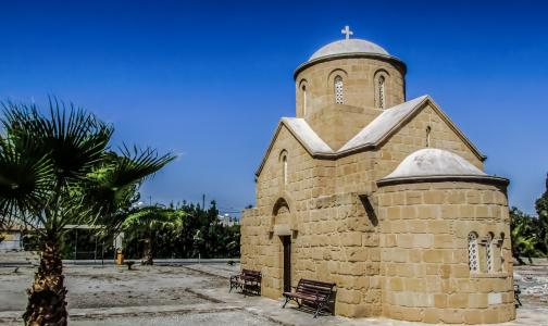 教会, 东正教, 建筑, 宗教, 塞浦路斯, 拉纳卡, 圣拉萨罗 iakovos