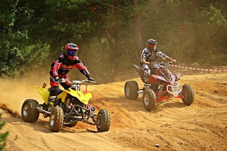 亚视, 耐力赛, 摩托车越野赛, 四, 赛车, 摩托车, 竞赛