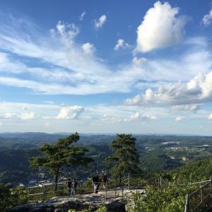山脉, 山谷, 山顶上, 山脉, 赛季, 景观, 环境