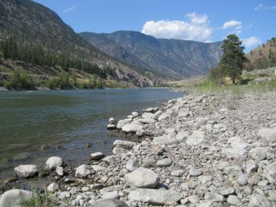 河, 岩石, 黄金, 坚固耐用, 地形, 山脉, 水