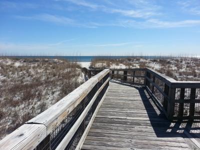 浮桥, 沙丘, 海滩, 沿海, 目的地, 海边, 自然