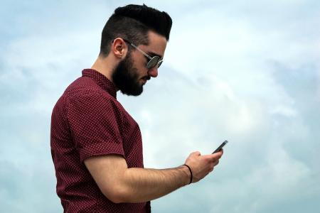 电话, 单元格, 客户服务, 联系我们, 模型, 赶时髦的人, 移动
