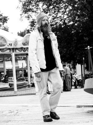 无家可归者, 男子, 黑色和白色, 阿姆斯特丹