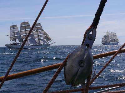 航海, 大船, 竞赛, 海, 竞争, 容器, 海洋