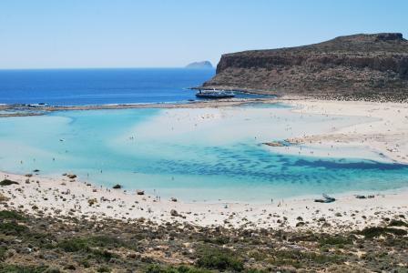 balos 礁湖, 克里特岛, 希腊