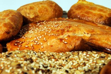 饼干, 面包, 谷物