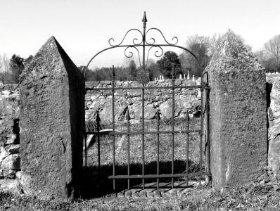 门, 墓地, 公墓, 入口, 幽灵, 哥特式, 铁