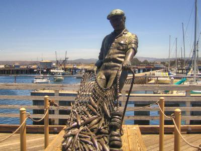 渔夫矮人, 三藩市, 加利福尼亚州, 美国, 旅游景点, 雕像, 港口