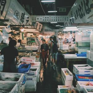 鱼, 鱼类, 市场, 人, 妇女, 海鲜, 食品