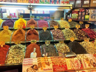 伊斯坦堡, 土耳其, 香料市场, 多彩, 本地店铺, spieces, 当地食品