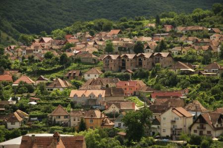 村庄, 小镇, 房屋, 建筑, 住宅, 地区, 首页
