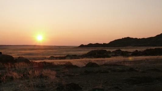 纳米比亚, 撒哈拉沙漠, 沙漠, 日落, 自然, 景观, 海