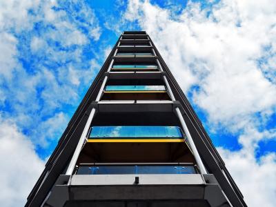 建筑设计, 建筑, 蓝蓝的天空, 建设, 云彩, 建设, 夏时制