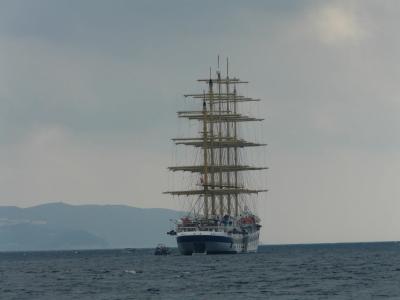帆船, 海, 船舶, 水, 天空, 云彩, 帆