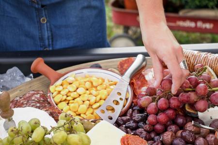 野餐, 食品, 蔓延, 偷看, 葡萄, 饮食, 生活方式