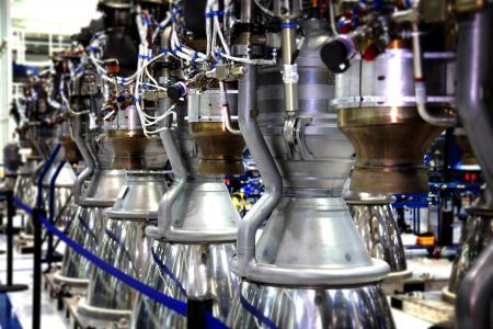 火箭发动机, 火箭发动机, 推进, 引擎, 火箭, 运输, 行业