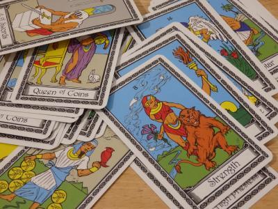 塔罗牌, 财富 》, 卡, 神秘, 占卜, 吉普赛人, 未来
