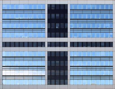 建设, windows, 对称, 建筑, 办公室, 模式, 现代