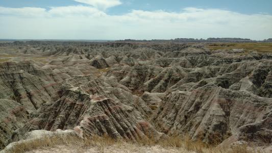 荒地, 岩石, 景观, 自然, 公园, 旅行, 砂岩