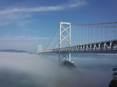 它, 火影忍者海峡, 云海, 桥-男人作结构, 著名的地方, 美国, 建筑