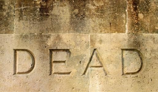 死, 死亡, 最后, 结束, 结束, 题词, 单词