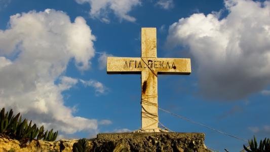 十字架, 基督教, 宗教, 东正教, 基督徒十字架, 天空, 云彩